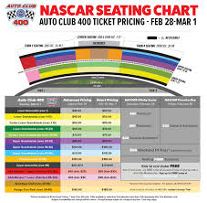 Seating Chart Auto Club Speedway