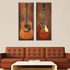 piece guitar nice guitar wall art