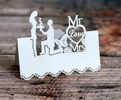Wedding Name 2019 Bride And Groom Laser Cut Place Cards Wedding Name Cards Guest Name Place Card Wedding Table Decoration From Cat11cat 11 06 Dhgate Com