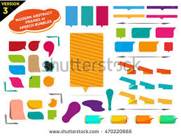 stock vector colorful frames version with filled spaces for reversed text or bright letter copy editable clip