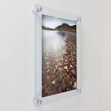 la03 4 wall mounted acrylic frame anti reflective