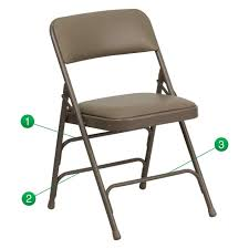 metal padded folding chairs. Folding Chair Padded Metal Chairs In Sizing 1264 X