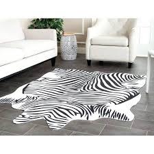 faux zebra rug cantabriaacom faux zebra rug fake zebra skin rug uk