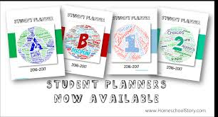 Its Here Student Planners Now Available Homeschool Story
