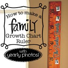 2x4 Ruler Growth Chart How To Make A Growth Chart Ruler With Yearly Photos
