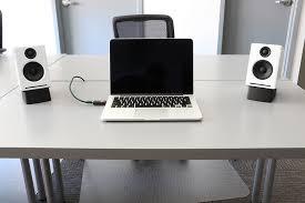 speakers desk. tilted desktop speaker stands speakers desk o