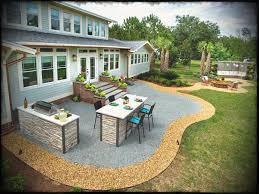 patio ideas with fire pit on a budget. Backyard Small Diy Patio Ideas Design And Concrete On A Budget Trends Paver With Grill Surround Fire Pit P
