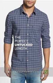 Jared Lang Shirt Size Chart Untucked Vs Tucked In A Guide To Dress Shirt Length