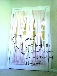 french door curtains excellent curtain rods sliding rod shades white size furniture captivating coverings home depot d