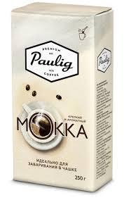 Paulig <b>Mokka</b> кофе молотый для заваривания в <b>чашке</b>, 250 г ...