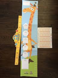 Baby Chart Beauteous TOYS R US Babies R Us Geoffrey The Giraffe Toddler Growth Chart W 48
