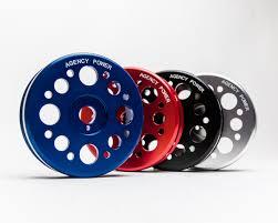 Crank Pulley Blue Scion FRS   Subaru BRZ   Toyota GT-86 Agency Power