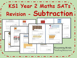 Bumper KS1 Year 2 Maths SATs Revision Pack - All Topics - 3 levels ...