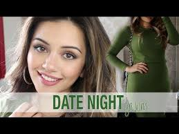 grwm date night get ready with me makeup hair outfit kaushal beauty