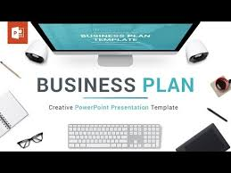 Business Plan In Powerpoint Business Plan Powerpoint Template Presentation Templates