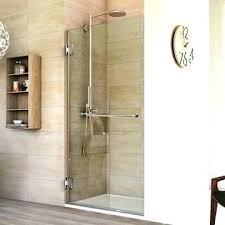 glass shower door hinges adjust