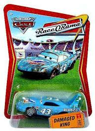 cars the movie the king. Modren King Disney  Pixar CARS Movie 155 Die Cast Car Series 4 RaceO To Cars The King C