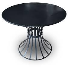 cheshire black round tables stools sets x2 ref rhc1908 warrington