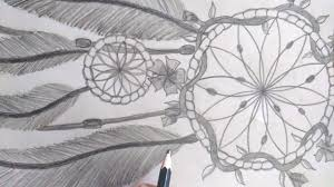 Dream Catchers Sketches Pencil Sketch Drawing A Dream Catcher YouTube 34