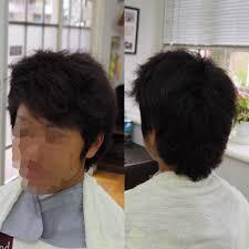 メンズカットメンズヘア男らしさ満点ヘアクセ毛癖毛くせ毛編