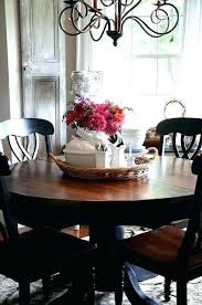 centerpiece ideas for long dining room table formal round tables