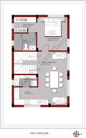 first floor plan for 150 sq yards of plot size