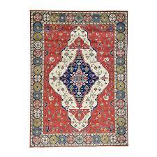 9 10 x13 7 hand knotted kazak medallion design pure wool
