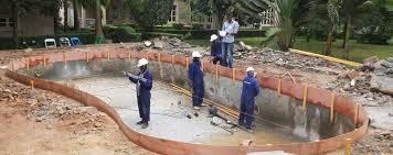 Qúa trình xây dựng bể bới trong nhà với 4 bước vô cùng nhanh chóng