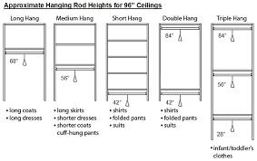 in closet design for women standard closet dimensions closet standard measurements for clothing shelves google search pinteres