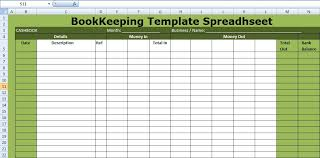 Excel Templates For Small Business Bookkeeping Small Business Bookkeeping Template Excel Spreadsheet