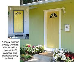 front door trimhow to repair damaged molding around door  Sprucing Up an Entry
