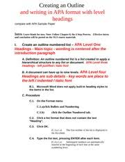 apa sample outline for research paper best photos from coachella 2014 outline for a research paper apa