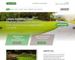 landscaping templates free pedestal landscaping lawn website templates