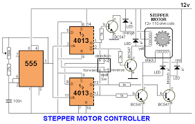 circuit diagram of stepper motor the wiring diagram pinteres circuit diagram · four phase stepper motor
