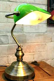bankers desk lamp bankers desk lamp s s s bankers style desk lamp with green glass shade bankers
