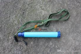 water purifier straw. Brilliant Water Pack Of Effective Water Purifier Camouflage Blue Personal  Straw Lightweight Compact Emergency Free DHL E674E Filter  In L