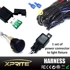 off road led light bar wiring harness with 1 leg 40 amp relay on Off Road Light Wiring Harness xprite off road led light bar wiring harness with 1 leg 40 amp relay on off road lights wiring harness