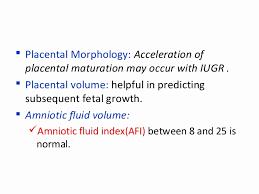 Sample Normal Amniotic Fluid Index Chart Cocodiamondz Com