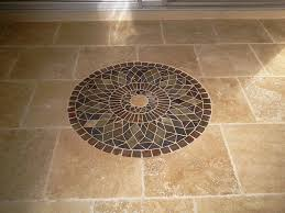 rate this cute tile floor medallions