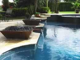 Diy Pool Waterfall Swimming Pool Fountains Waterfalls