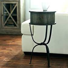 small accent table round bold idea 8 tables with shelves storage