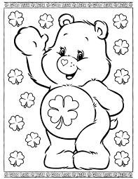 Brother bear and hawk coloring pages for kids, printable free. Care Bears 29 Coloringcolor Com Bear Coloring Pages Teddy Bear Coloring Pages Coloring Books