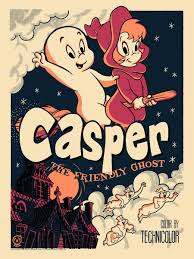Get the sleep you've always dreamed of. Casper The Friendly Ghost Vintage Variant Mad Duck Posters