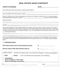 Property Purchase Agreement Template
