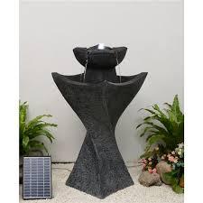 hi line gift solar powered pedestel