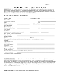 parent conference template release of liability form template 02 edit fill sign online