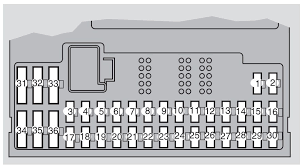 volvo s60 mk1 first generation 2009 fuse box diagram auto volvo s60 mk1 first generation 2009 fuse box diagram
