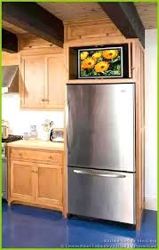 Cabinet In Kitchen Design Stunning Over Refrigerator Cabinet Dimensions Cabinet Above Refrigerator