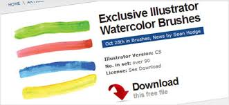 Free Watercolor Brushes Illustrator A Gold Mine Of Adobe Illustrator Resources The Jotform Blog
