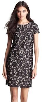 Ivy Blu Black Lace Cap Sleeve Mid Length Cocktail Dress Size 20 Plus 1x 82 Off Retail